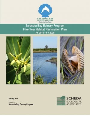 Read the current 5-Year Habitat Restoration Plan for Sarasota Bay.