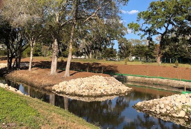 2020 Hudson Bayou Restoration Tree Island Preservation