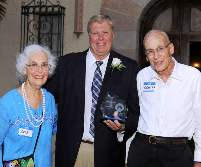 Mark Alderson with Charles & Lois Edwards