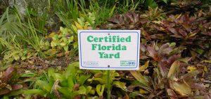 Certified Florida Yard Sign