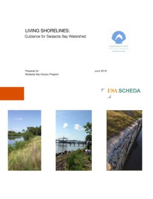 Living Shorelines: Guidance for Sarasota Bay Watershed (2018)