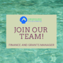 Join Our Team – Finance and Grants Manager