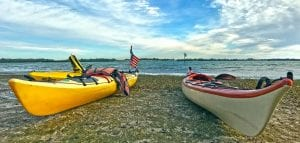Two Kayaks on Jewfish Key January 2018