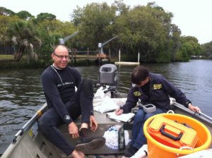 Nate Brennan Mote And Crew Samplng Phillippi Creek Biology And Nutrients