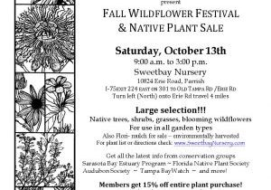 Plantsale Flyer 10 18