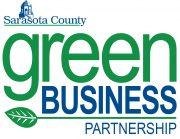 Sarasota County Green Business Partnership Logo Sign